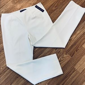 Luxe Winter White pants petite